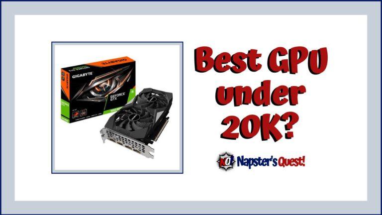 Best GPU Under 20K in India GTX 1660 Super