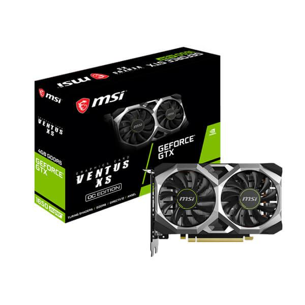 MSI GTX 1650 Super Ventus XS OC budget-friendly best graphics card under 20000