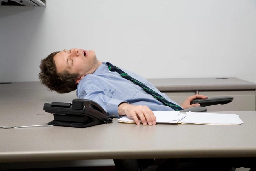 Sleeping Developer