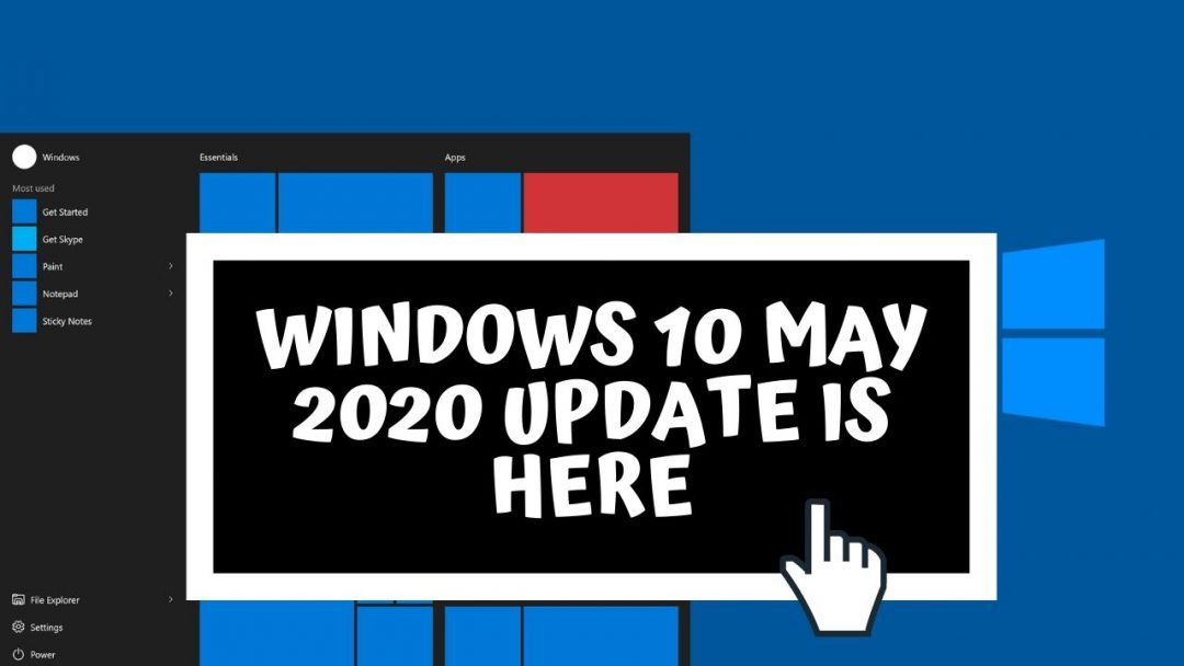 Windows 10 May 2020 Update Sneak-Peek