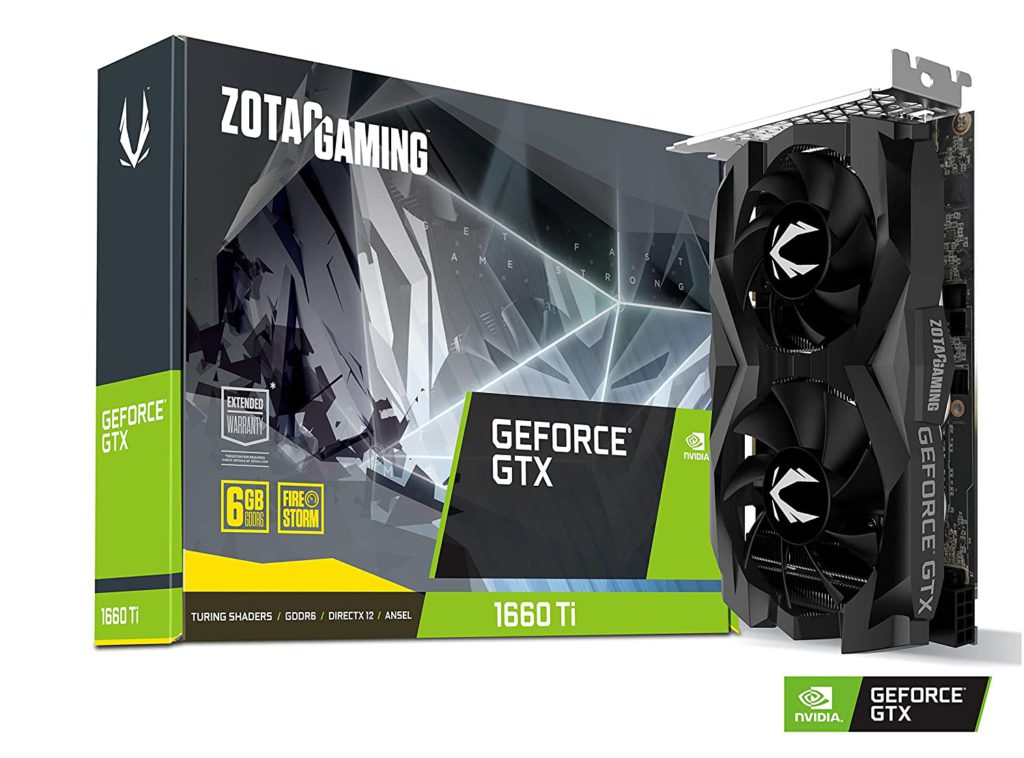 Zotac GeForce GTX 1660 Ti Graphics Card 6GB DDR6